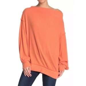 Free People Main squeeze Hacci off shoulder